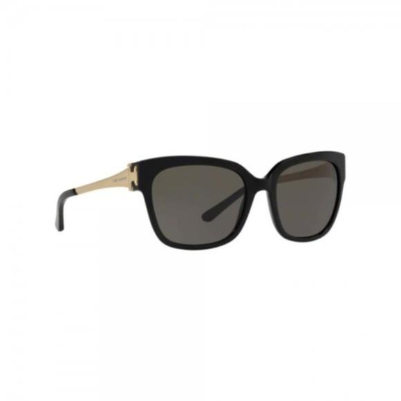 Tory Burch Accessories - Tory Burch Cat Eye Logo Frame Black Sunglasses